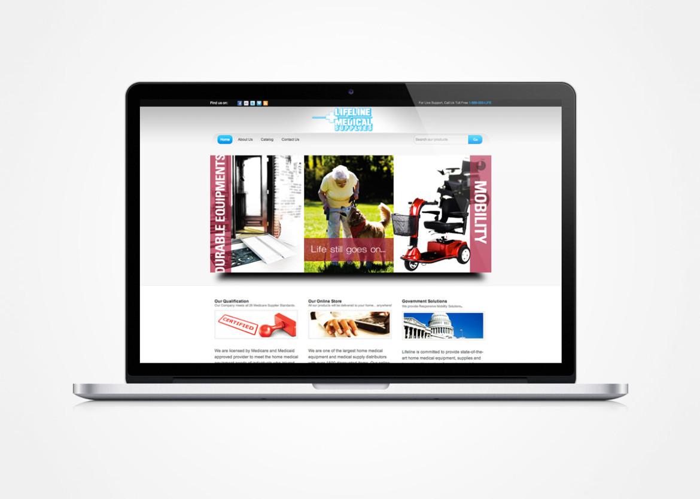 Lifeline Medical Supplies Website – BrandSquire