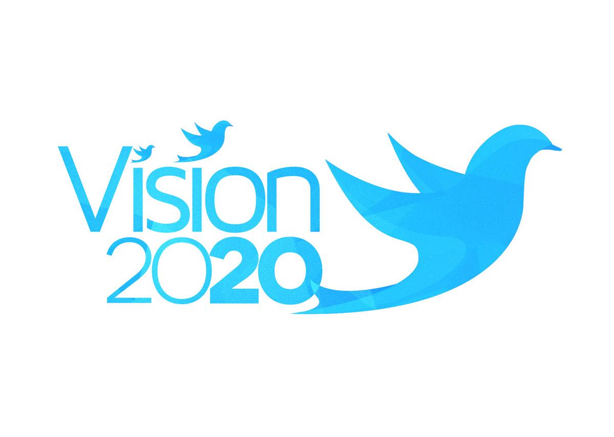 Vision 2020 Event Branding Brandsquire