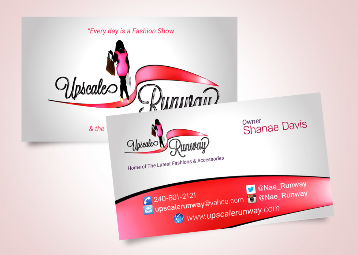 Upscale Runway Business Cards | BrandSquire
